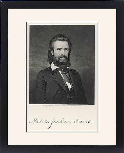 Framed Print Of A J Davis by Prints Prints Prints