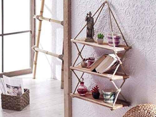 100% Natural Bamboo Bookshelf, Multi-Layer Landing Storage Rack, Simple Removable Student Bookcase (3-Tier)