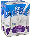 Dream Rice Drink Enriched Vanilla 8 Oz (Pack of 6)