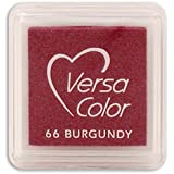 "Pigmento VersaColor Inkpad 1"" cubo-Borgogna"