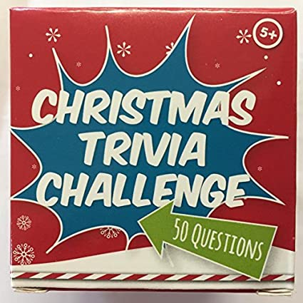 Amazon Com Christmas Trivia Challenge Game 50 Questions Answers