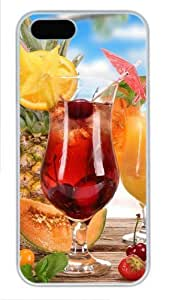 Fruity Cocktails online iphone 5S cover PC White for Apple iPhone 5/5S