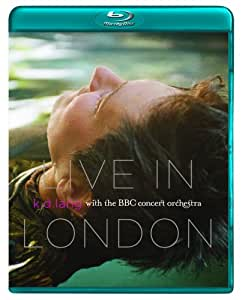 k.d. lang: Live in London with the BBC Orchestra [Blu-ray]