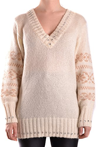 Dolce e Gabbana Women's Mcbi099382o Beige Wool Sweater Dolce & Gabbana Women Sweaters