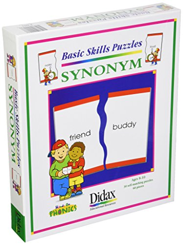 Didax Educational Resources Synonym Matching Puzzle (30 Piece) - Import It  All
