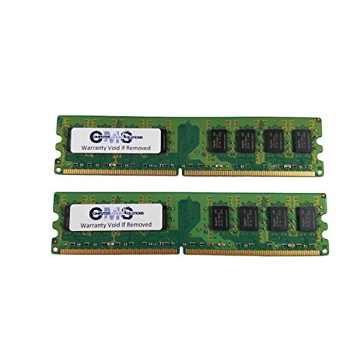 2Gb (2X1Gb) Dimm Ram Memory Compatible With Dell Dimension E310 Ram Memory Ddr2 By CMS A100