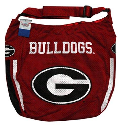 (NCAA Georgia Bulldogs Ladies Athletic Mesh Purse )