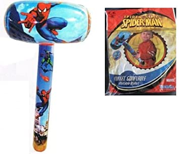 Downtown - Martillo hinchable de Spiderman: Amazon.es: Juguetes y ...