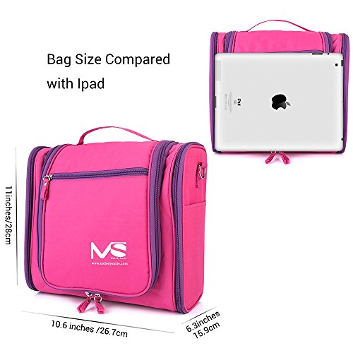 71c482a0e350 Large Hanging Travel Toiletry Bag - MelodySusie Heavy Duty ...