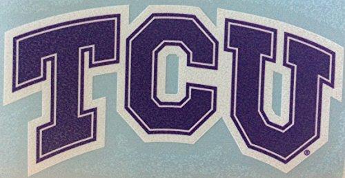 TCU HORNED FROGS TEXAS CHRISTIAN UNIVERSITY Vinyl Sticker 4