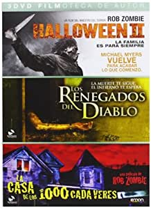 Pack: Halloween II + Renegados Del Diablo + La Casa De Los 1000 Cadáveres [DVD]