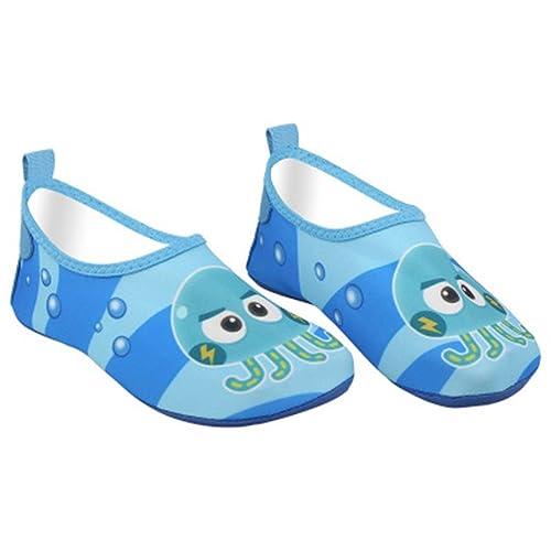 edv0d2v266 Kids Swim Water Shoes Baby Boys Girls Toddler Quick-Dry Barefoot Aqua Socks Shoes for Beach Pool Surfing Walking