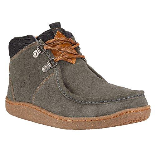 Timberland - Zapatos de cordones para hombre Gris gris