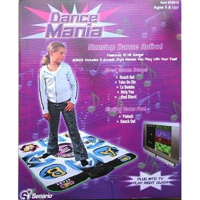 Senario Dance Mania Plug & Play Dance Mat: Toys & Games