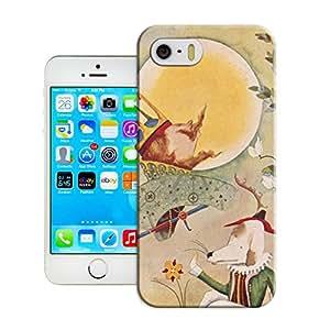 BreathePattern-156.A Colorful Illustration Plastic Protective Case-Apple iPhone 5 case