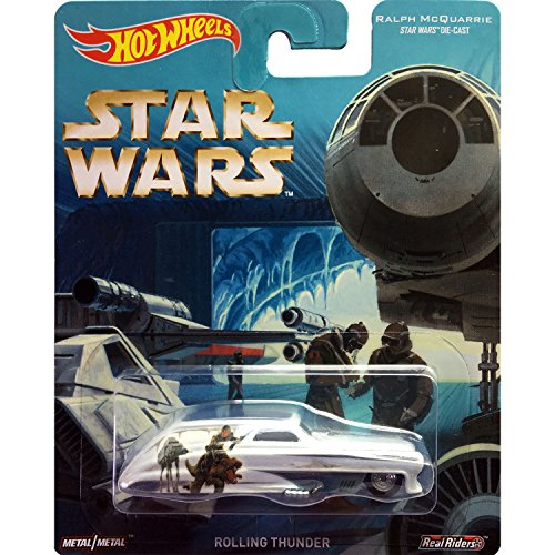 Hot Wheels Star Wars Pop Culture Ralph McQuarrie Rolling Thunder (Game Rolling Thunder)