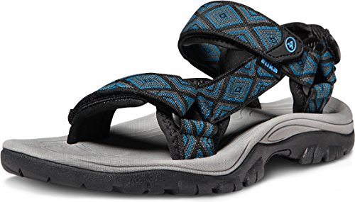 - ATIKA Men's Sport Sandals Maya Trail Outdoor Water Shoes, Maya(m111) - Dark Blue, 5