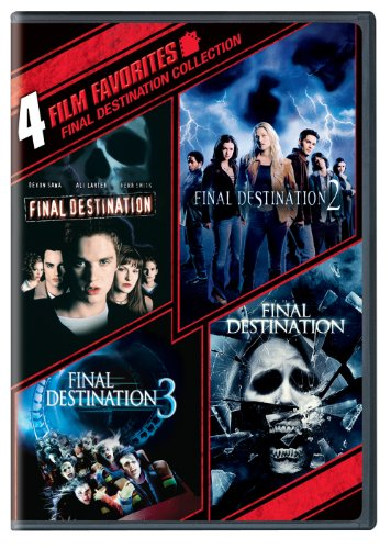 4 Film Favorites: Final Destination (Final Destination, Final Destination 2, Final Destination 3: Special Edition, The Final Destination)