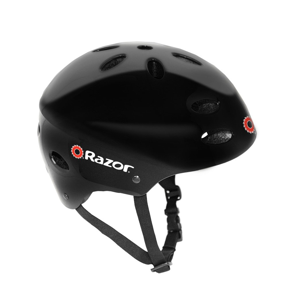 Razor V-17 Youth Multi-Sport Helmet, Gloss Black by Razor