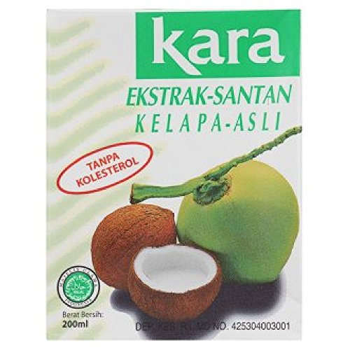 KARA Natural Coconut - Extract 200ml (628MART) (6 Packs) by KARA (Image #1)