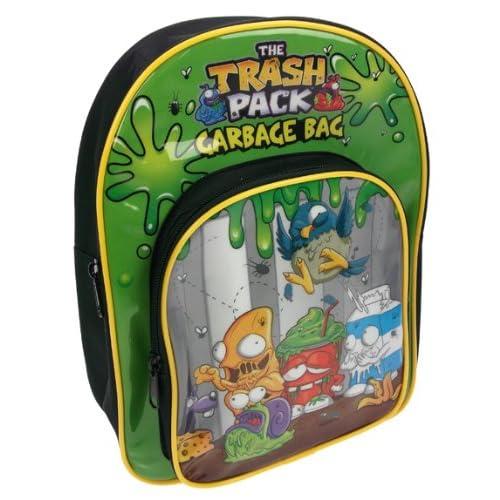Trash Pack - Mochila con tirantes ajustables