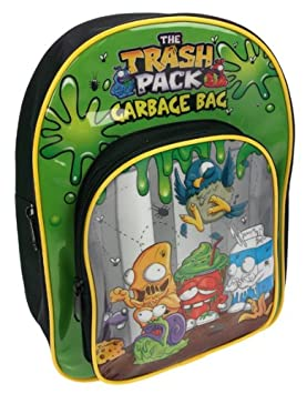 Trash Pack - Mochila con Tirantes Ajustables: Trash Pack Backpack with Adjustable Backstraps: Amazon.es: Equipaje