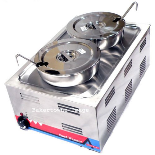 Commercial Kitchen Portable Steam Table Food Warmer Soup Station Set by Adcraft
