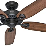 Hunter Fan 52'' Energy Star Ceiling Fan in New Bronze, 5 Blade (Certified Refurbished)