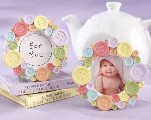 cute as a button picture frame - 6