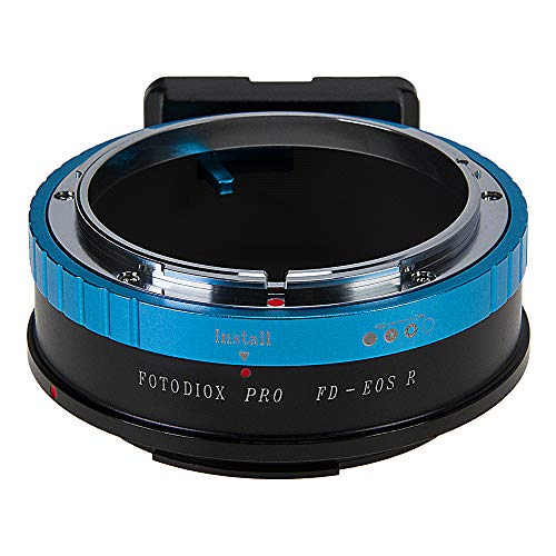 (Fotodiox Pro Lens Mount Adapter Compatible with Canon FD & FL 35mm SLR Lenses to Canon RF (EOS-R) Mount Mirrorless Camera Bodies)