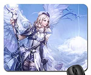 Angel Mouse Pad, Mousepad (10.2 x 8.3 x 0.12 inches)
