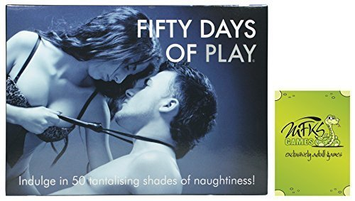 Fifty Days of Play Game - Adult Card Game For Couples - Bundle - 2 Items