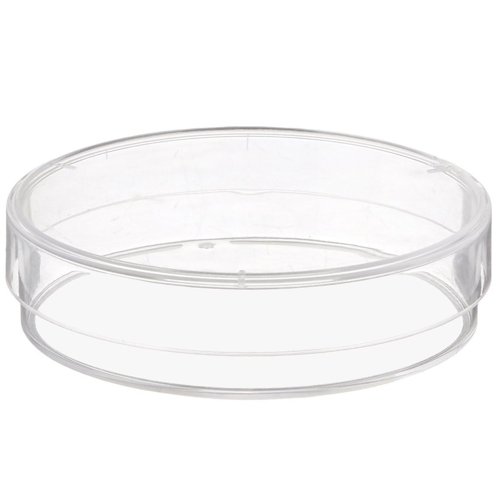 Sterile 3 Vents Pack of 10 60 mm x 15 mm Karter Scientific 206D2 Plastic Petri Dishes