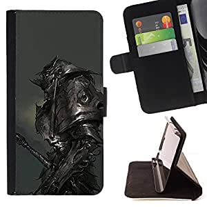 Momo Phone Case / Flip Funda de Cuero Case Cover - Metal Armor Monster Hero Juego - Sony Xperia M2