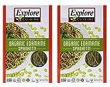 Explore Asian Organic Edamame High Fiber Pasta, 8 oz - 2 Pack