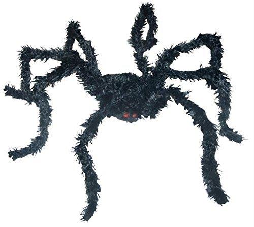 Light Up Bk Spider Long Hair ()