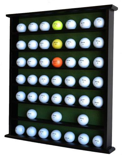 Amazon.com : Golf Gift 49-Ball Cabinet Display Case Rack, No Door ...
