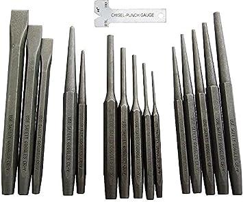Chrome Vanadium Steel 24 Pc Punch Set