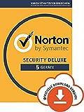 Norton Security Deluxe 2018 | 5 Geräte | PC/Mac/iOS/Android |Subcription mit Amazon