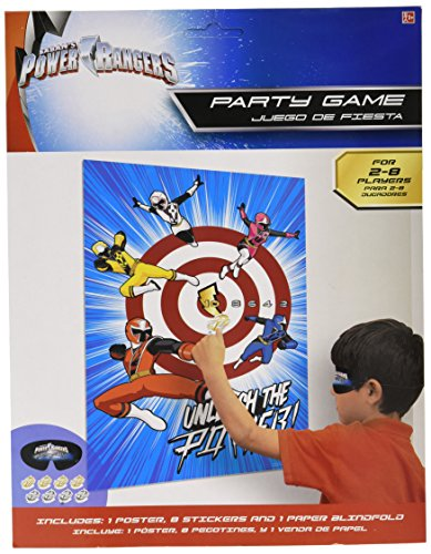 Power Rangers Ninja Steel Party Game, Party Favor