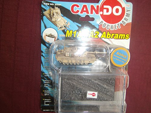 - Dragon Can.Do Pocket Army M1A1/A2 Abrams Tanks 1/144 scale preassembled scale collectors model (one from set)