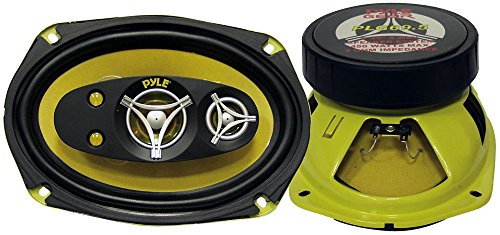 PYLE PLG69.5 6-Inch x 9-Inch 450 Watt Five-Way Speakers - 450 Watt Five Way Speakers