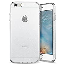 iPhone 6S Case, iPhone 6 Case, Spigen Liquid Crystal - Slim Protection Soft Clear Case for Apple iPhone 6S / iPhone 6 - Glitter Crystal Quartz
