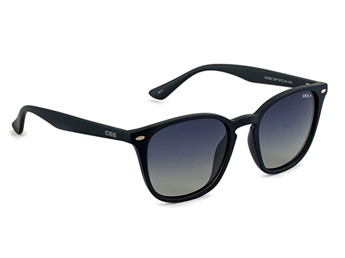 0b779b7107 Image Unavailable. Image not available for. Colour  IDEE Polarized Square  Unisex Sunglasses ...