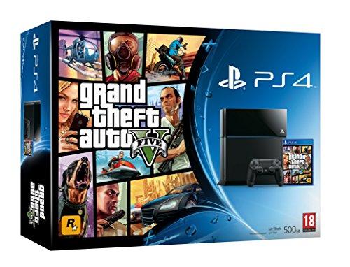 Videoentity.com 51ZY3fZC-oL Sony PS4 Console with Grand Theft Auto V (PS4)
