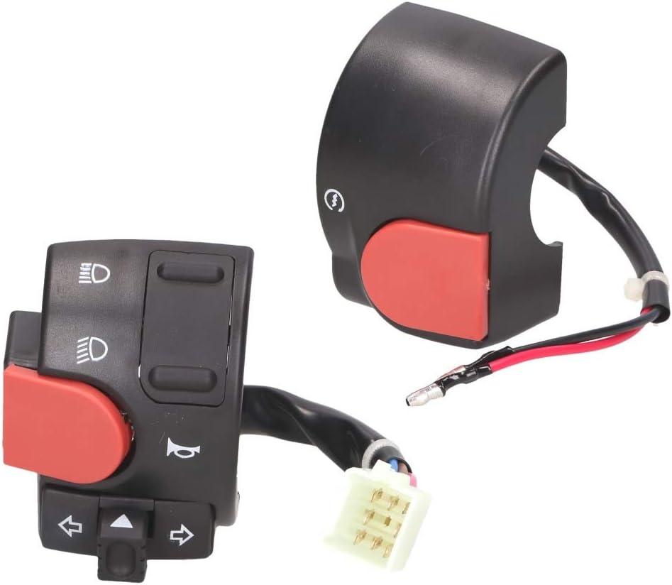 Schaltereinheit Lenker Set Links Und Rechts Für Yamaha Aerox Mbk Nitro 2012 Auto