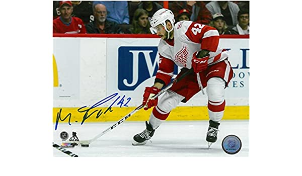 MARTIN FRK AUTOGRAPHED DETROIT RED WINGS 8X10 PHOTO  2 at Amazon s Sports  Collectibles Store 11600566d