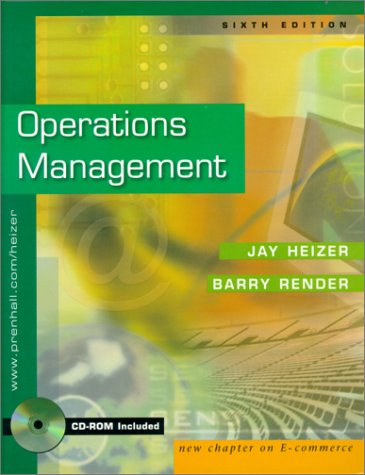 Operations Management and Interactive CD Package (6th Edition)