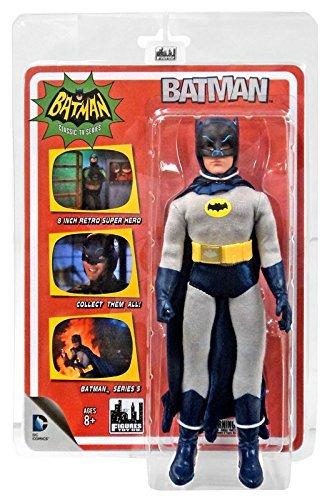 Batman Classic 1966 TV Series Action Figures Series 5: Removable Cowl Batman by Figures Toy Company