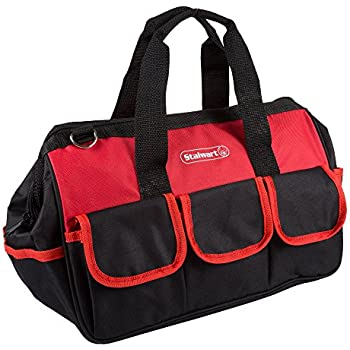 Soft Sided Tool Bag With Wide Mouth Storage Storage